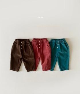 lovely2min-린도 코듀팬츠 (XS~XL)♡嬰兒褲子