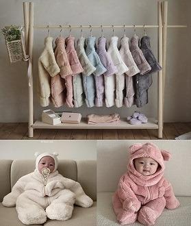 lovely2min-2021 히얼아이엠 킨더베이비슈트 (~12M)♡嬰兒外套