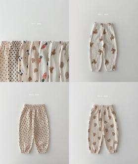 lovely2min-데일리베베 가을요루고쟁이 (XS~2XL)♡嬰兒褲子