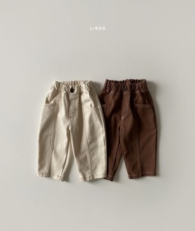 lovely2min-린도 쿠키절개팬츠 (XS~XL)♡嬰兒褲子