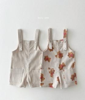 lovely2min-데일리베베 골덴멜빵 (XS~2XL)♡嬰兒褲子