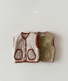 lovely2min-린도 우디베스트 (XS~XL)♡嬰兒外套