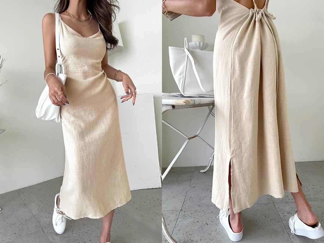 naning9-호와트 린넨나시원피스(C07)♡韓國女裝連身裙