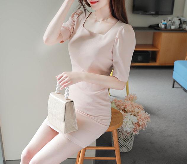 myfiona-소녀 스퀘어 원피스 m8741 - 러블리 로맨틱 1위 쇼핑몰 피오나♡韓國女裝連身裙