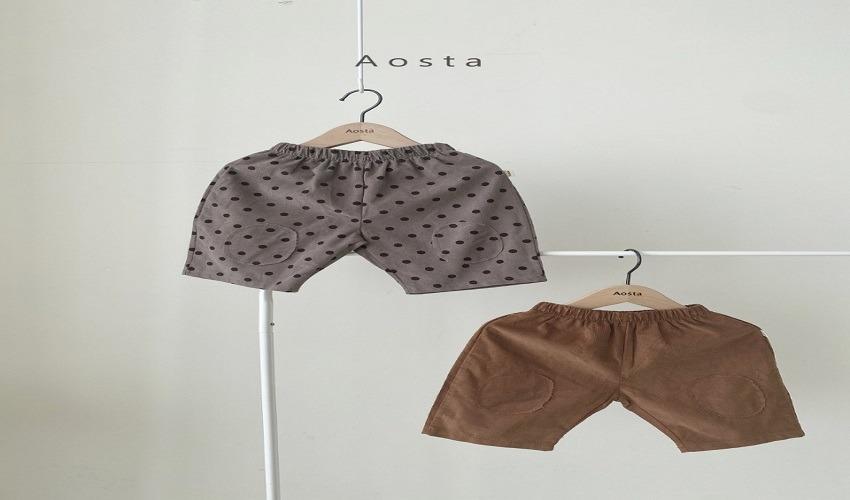 lovely2min-아오스타 구프팬츠 (S~2XL) - lovely2min♡韓國童裝褲