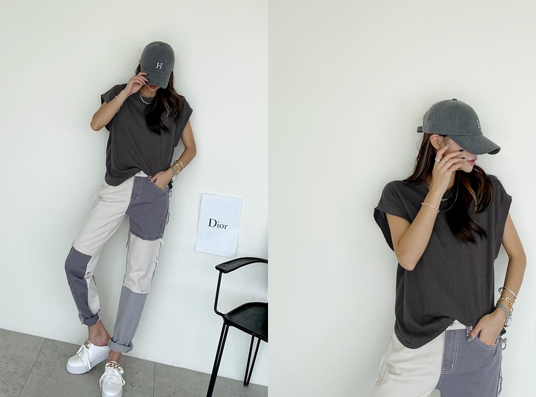 naning9-원스베 피그먼트나시티(C08)♡韓國女裝上衣