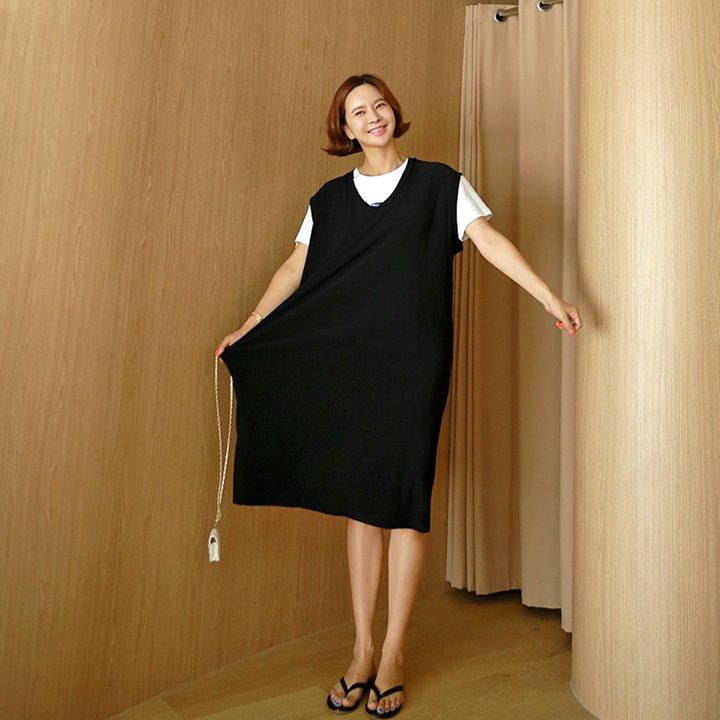 lemite-쿨해지는 조끼원피스(쿨소재)♡韓國女裝連身裙