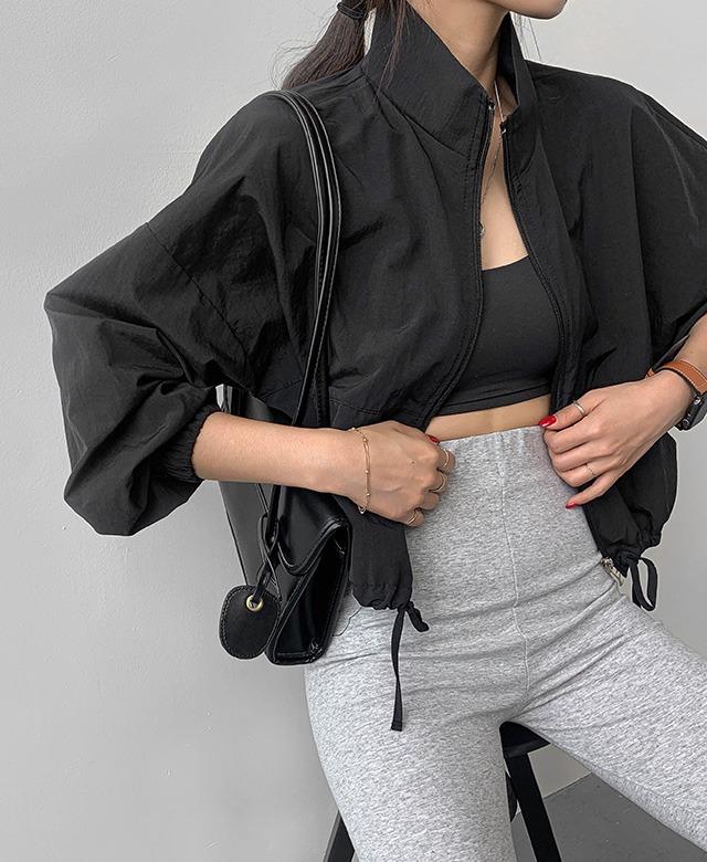 merongshop-[무료배송] 윈디 반크롭 바람 막이 - 4 color♡韓國女裝外套
