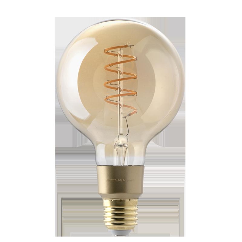 Momax Smart IoT 復古智能LED燈泡 球體 IB3SY