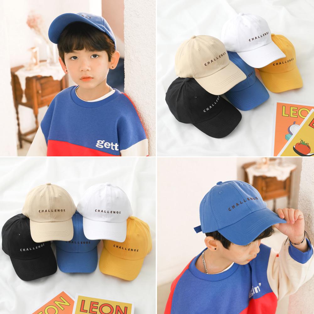 little-bro-챌린지포인트캡[모자BBS568]♡童裝帽