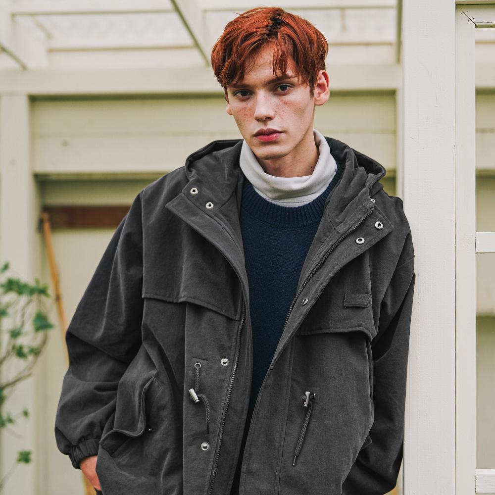 fairplay142-[[더블유브이프로젝트] 톰 후드 자켓 차콜 MJOT7516]♡韓國男裝外套