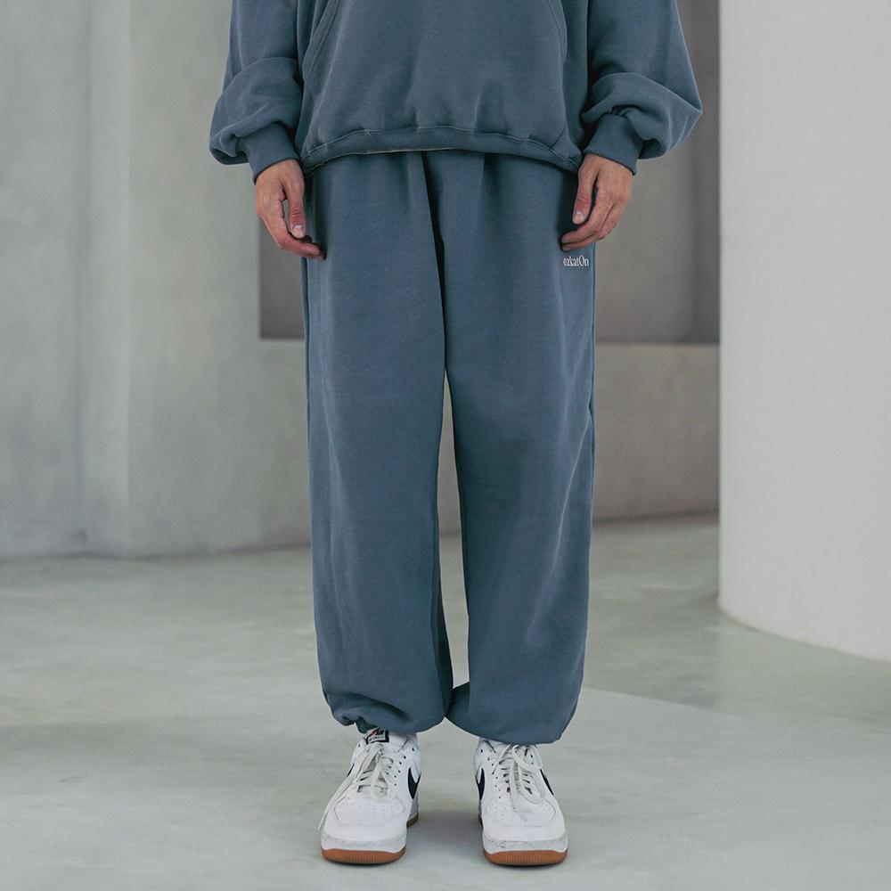 fairplay142-[[에즈카톤] 유니온 트레이닝 팬츠 블루그레이 KMLP6614]♡韓國男裝褲子