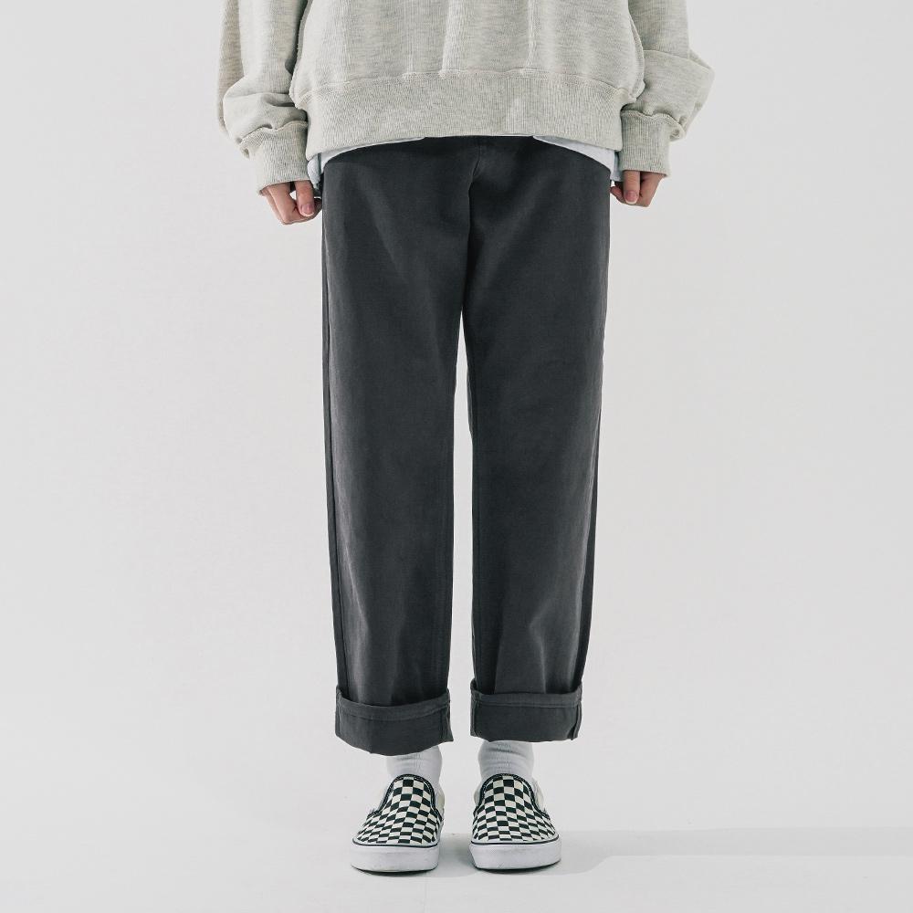 fairplay142-[[더블유브이프로젝트] 톰 코튼 팬츠 차콜 MJLP7517]♡韓國男裝褲子