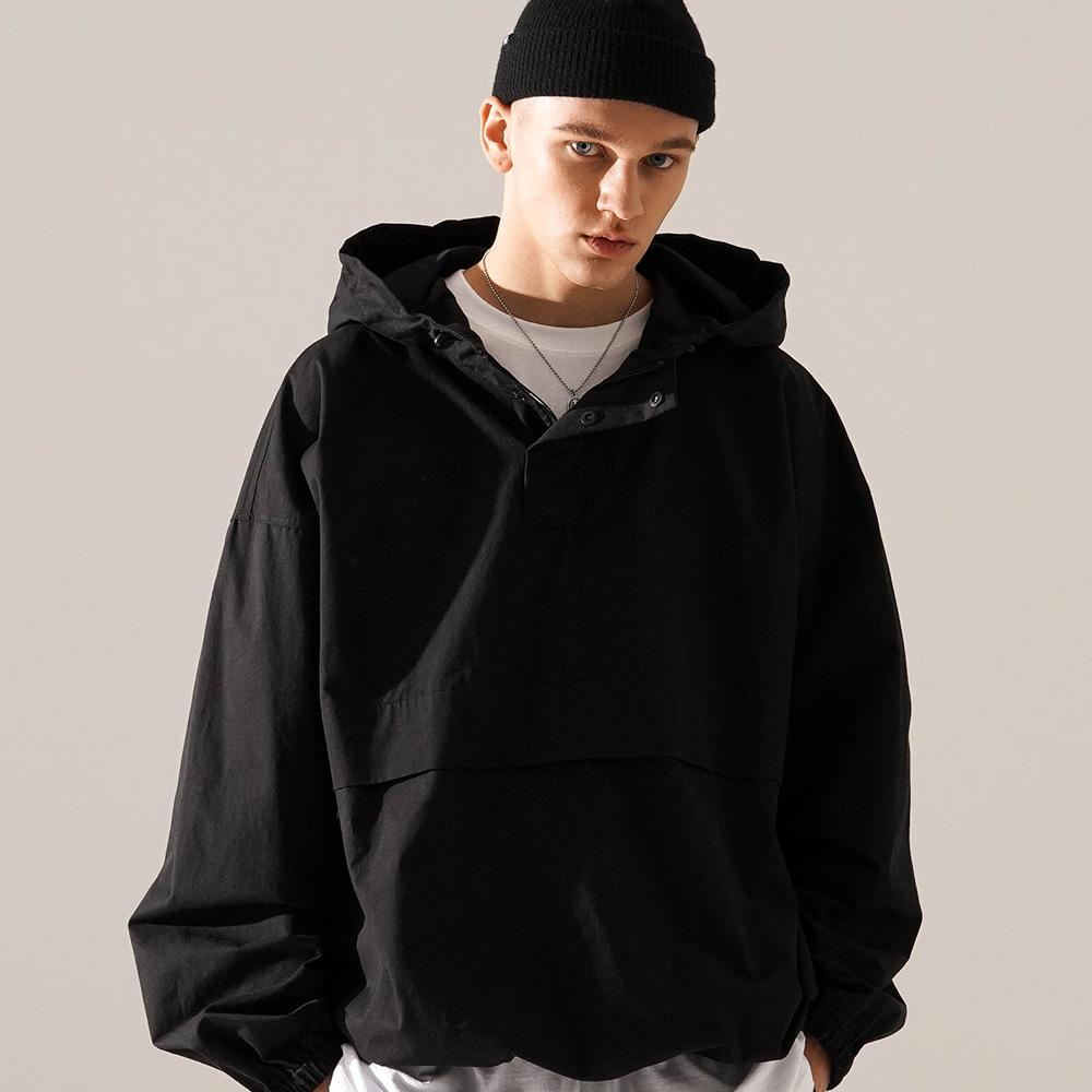 fairplay142-[[티떠블유엔] 부스 아노락 블랙 JEOT3398]♡韓國男裝外套
