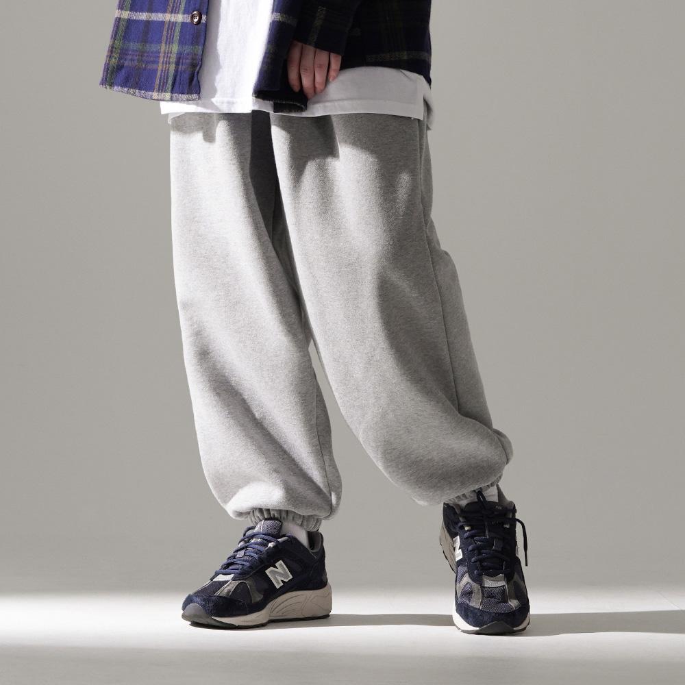 fairplay142-[[퍼스텝] 마일 기모 스웨트팬츠 그레이 DELP4444]♡韓國男裝褲子