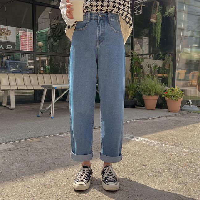 sonyunara-[특가] 튠즈 스트레이트 데님 팬츠♡韓國女裝褲