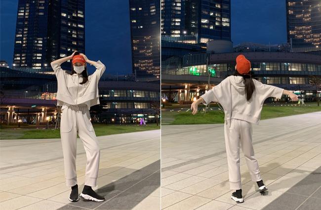 minsshop-후드집업+팬츠SET 지오 후드 집업 트레이닝세트♡韓國女裝套裝