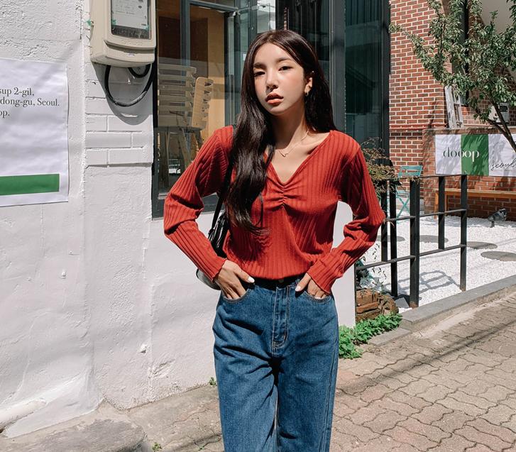 lylon-라디골지셔링티셔츠♡韓國女裝上衣