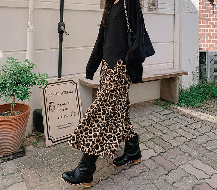 lylon-썸호피롱스커트♡韓國女裝連身裙