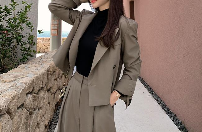 minsshop-(울혼방)트렌디 크롭 자켓 (주문폭주!)♡韓國女裝外套