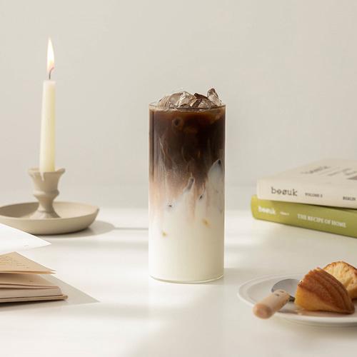 ssueim-Simple Glass 長款耐熱玻璃杯 520ml♡韓國家品杯具
