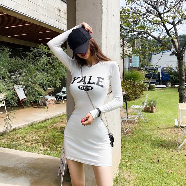iampretty-얄루 슬림 미니원피스♡韓國女裝連身裙