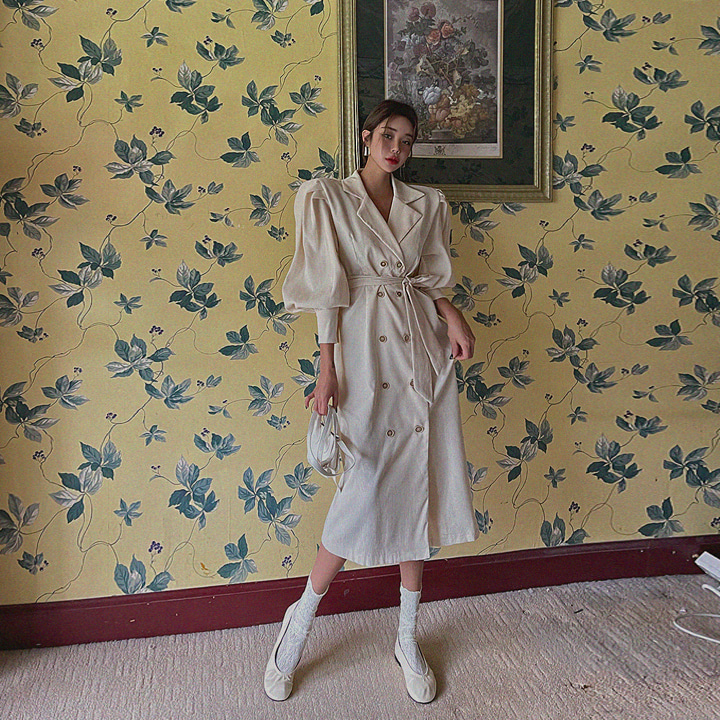 lagirl-[라걸BEST] 퍼프골덴더블자켓원피스-jk♡韓國女裝外套