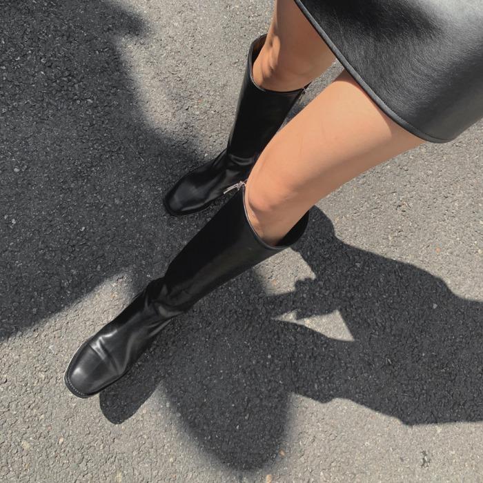 theresheis-마르틴 롱 부츠♡韓國女裝鞋