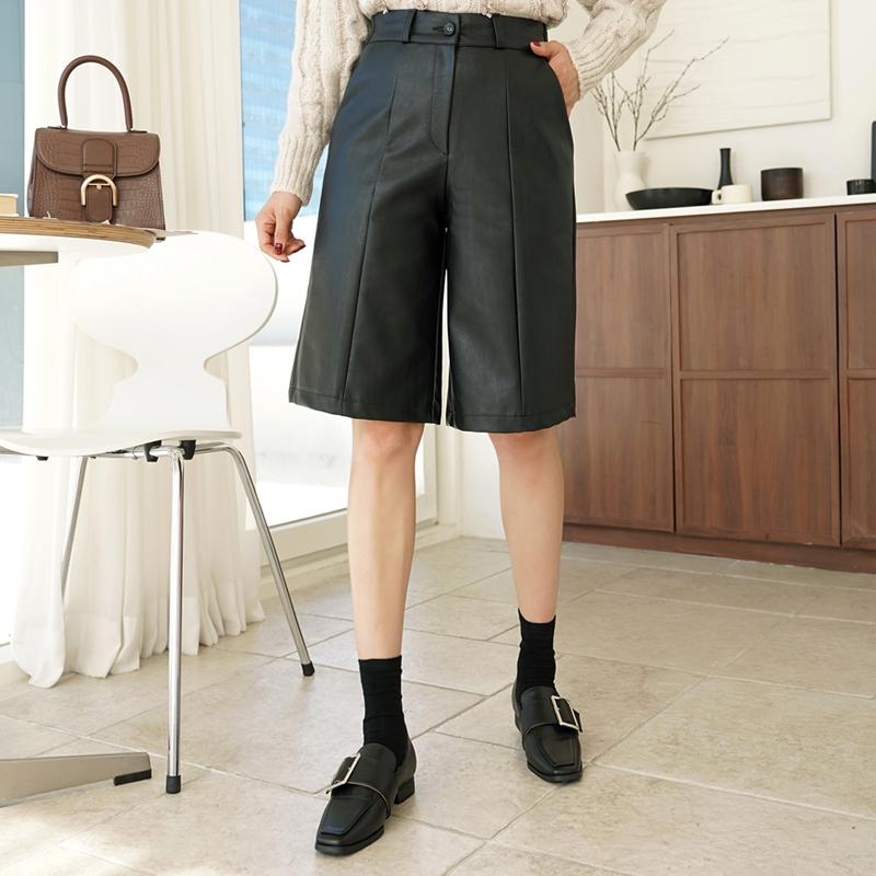 clicknfunny-끝시크 레자반바지[FREE,L사이즈]♡韓國女裝褲