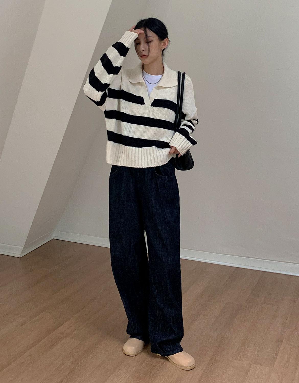 blackup-캔쇼 라운드 미들부츠♡韓國女裝鞋