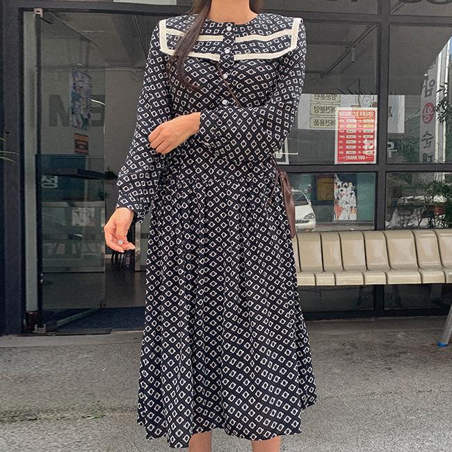 cherryville-[유럽피안 에스닉롱원피스]♡韓國女裝連身裙