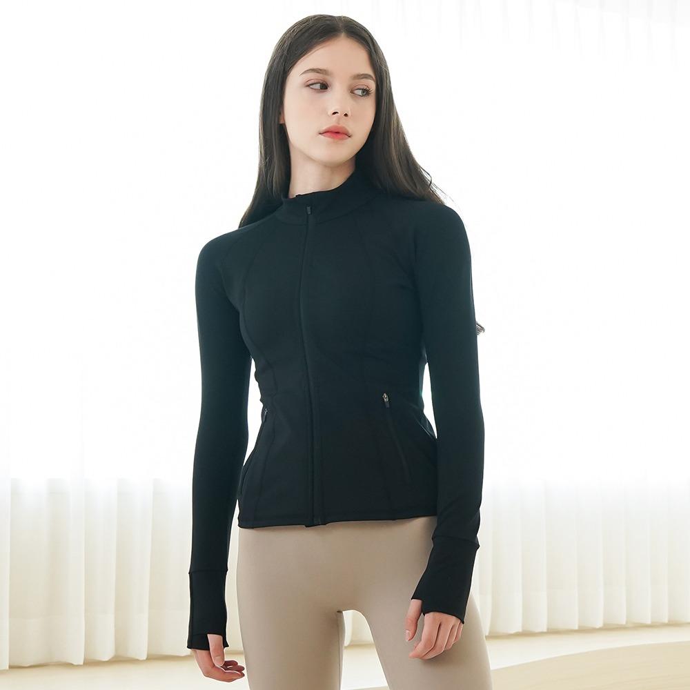 skullpig-셀라 액티브 자켓 블랙♡韓國瑜伽女裝上衣