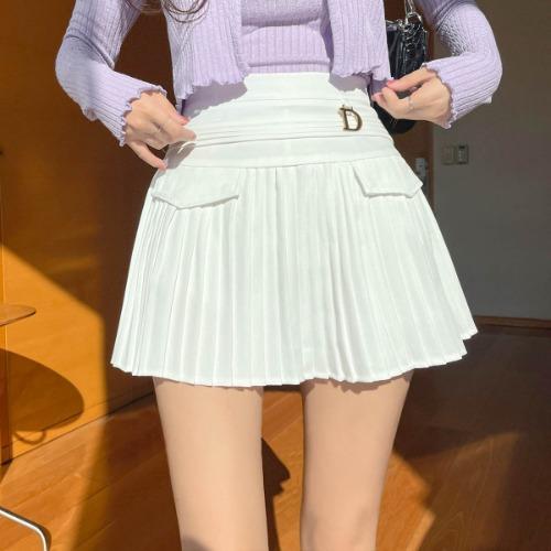 zanne-[LEXY] 디오르 플리츠 치마 바지 - 잔느♡韓國女裝裙