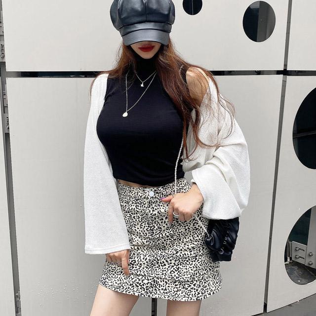iampretty-널위한 민소매 폴라티♡韓國女裝上衣