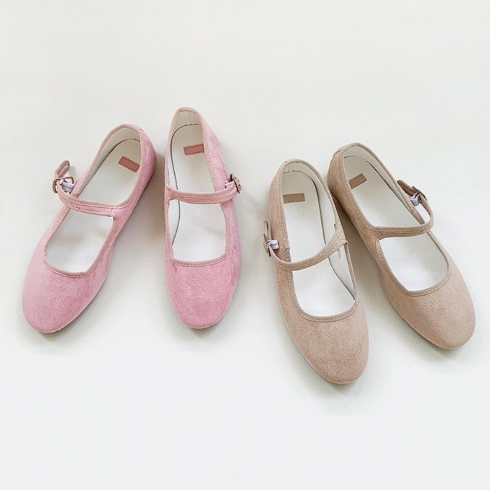 littleblack-스웨이드 메리 슈즈(2C)♡韓國女裝鞋