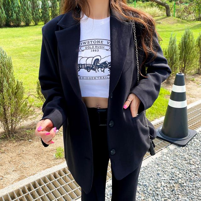 iampretty-탐나는 백트임 자켓♡韓國女裝外套