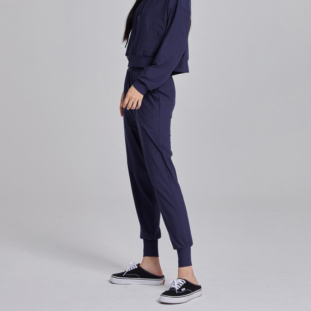 skullpig-마일드 슬림조거팬츠 네이비♡韓國瑜伽女裝褲