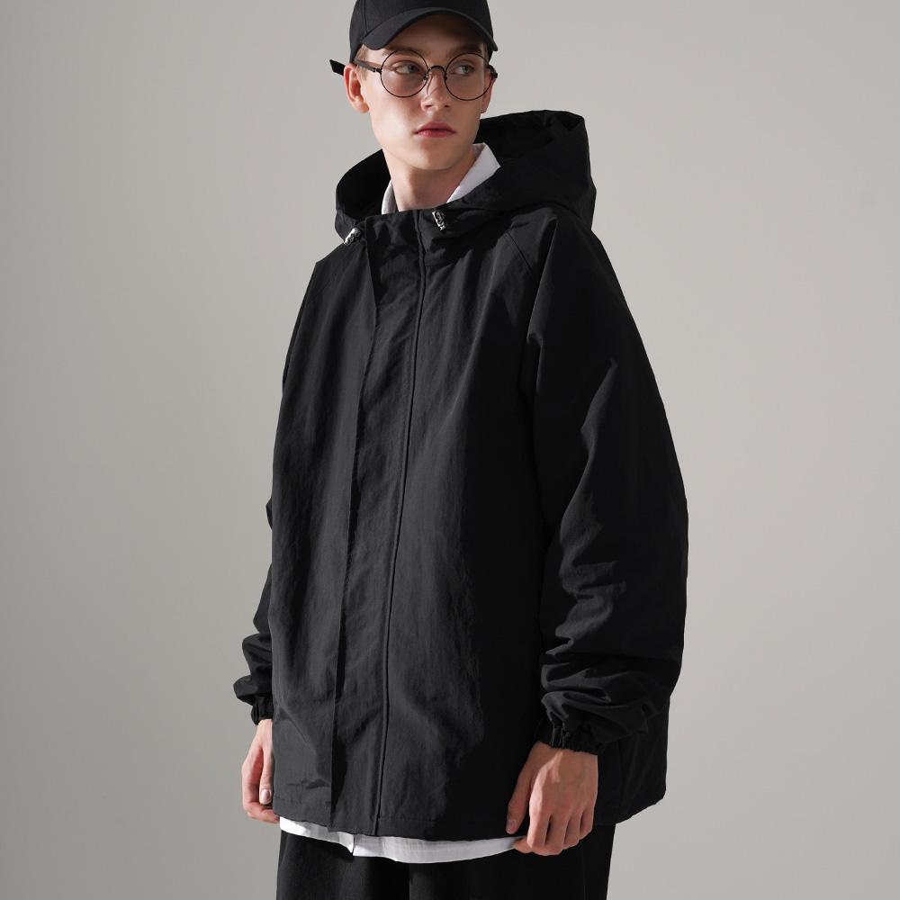 fairplay142-[[10/1배송][퍼스텝] 컴피 나일론 자켓 블랙 JUOT4451]♡韓國男裝外套