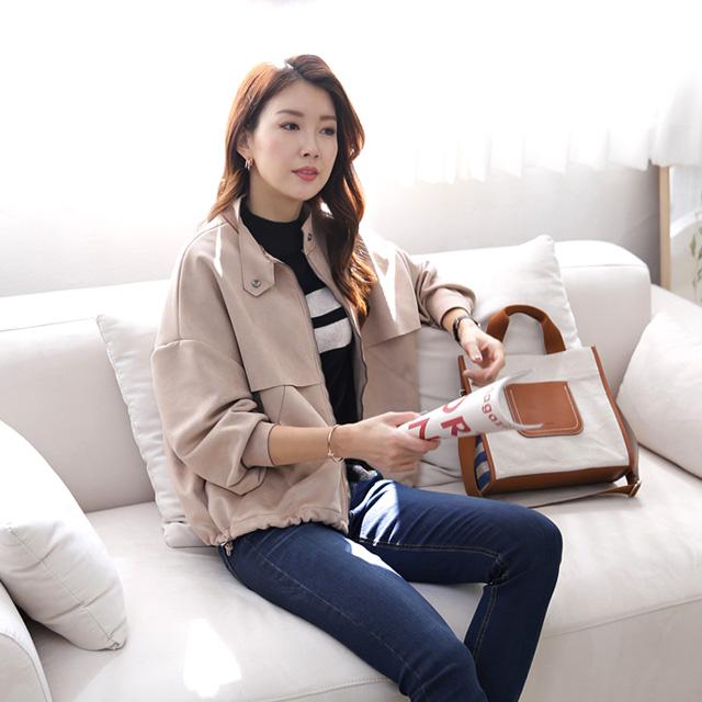tiramisu-368밑단셔링세무자켓♡韓國女裝外套