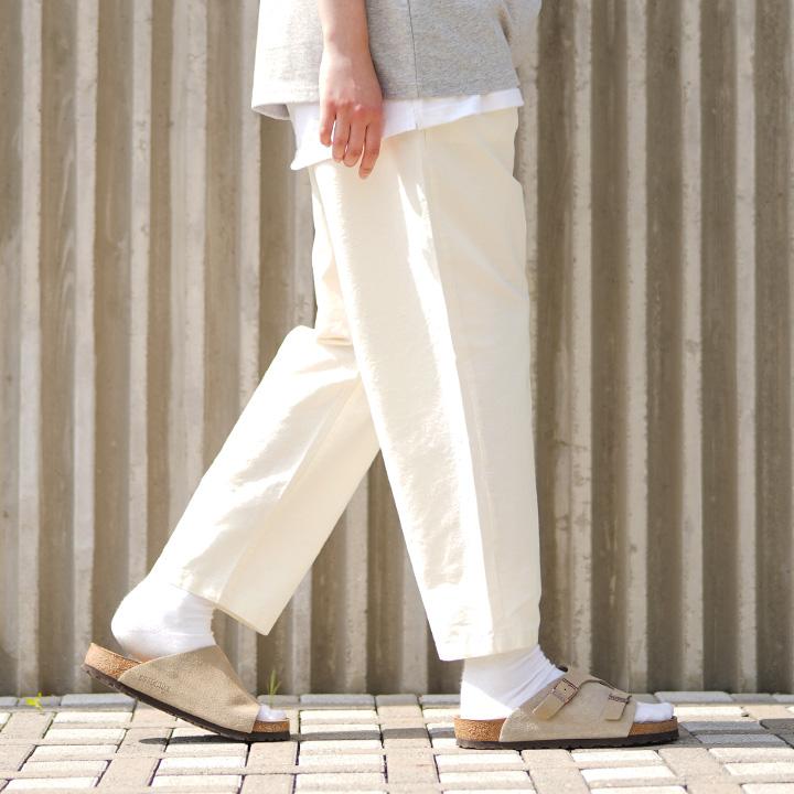 fairplay142-[[퍼스텝] 에이드 린넨 팬츠 아이보리 JULP4429]♡韓國男裝褲子