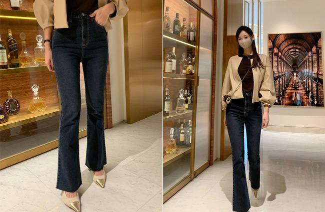 minsshop-(79.마약팬츠)어메이징 부츠컷 데님팬츠 (주문폭주!)♡韓國女裝褲