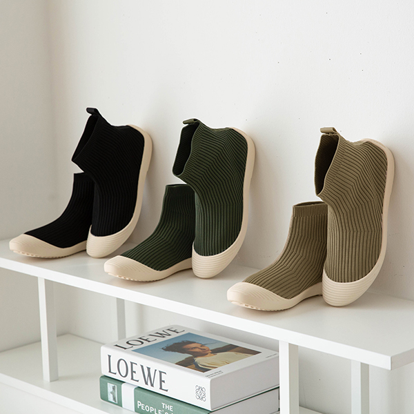 canmart-[골지스판하이탑슬립온 C091324]♡韓國女裝鞋