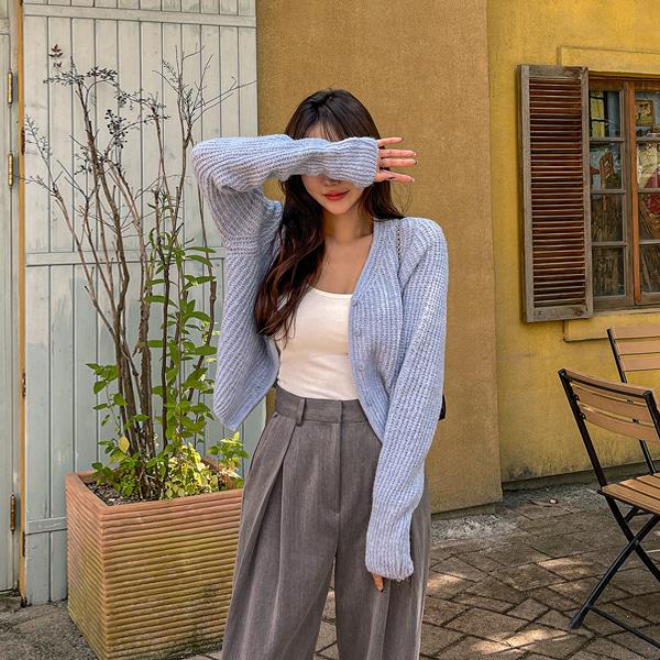 planj-앤드 니트 가디건♡韓國女裝外套