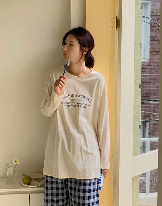 loloten-바올 뉴데이 티셔츠♡韓國女裝上衣