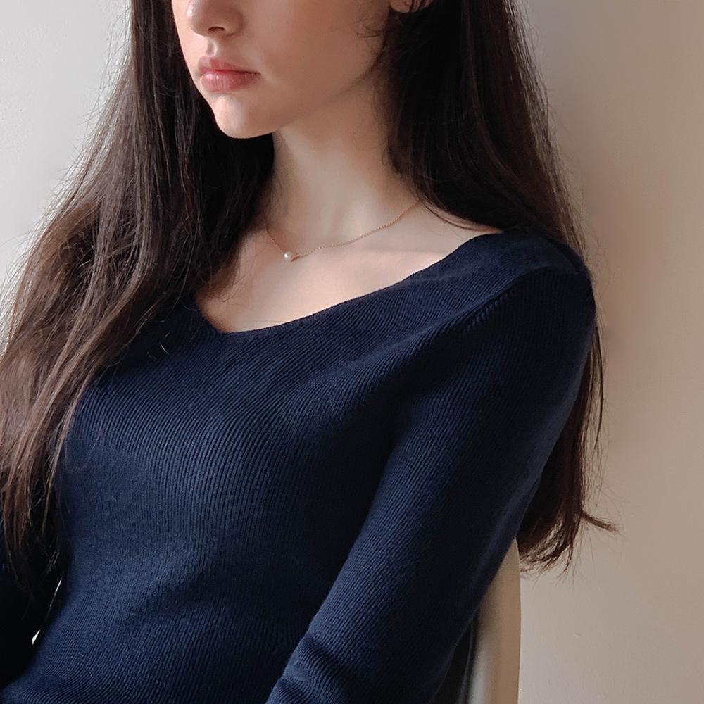 cherrykoko-[햅번 진주 목걸이]♡韓國女裝飾品