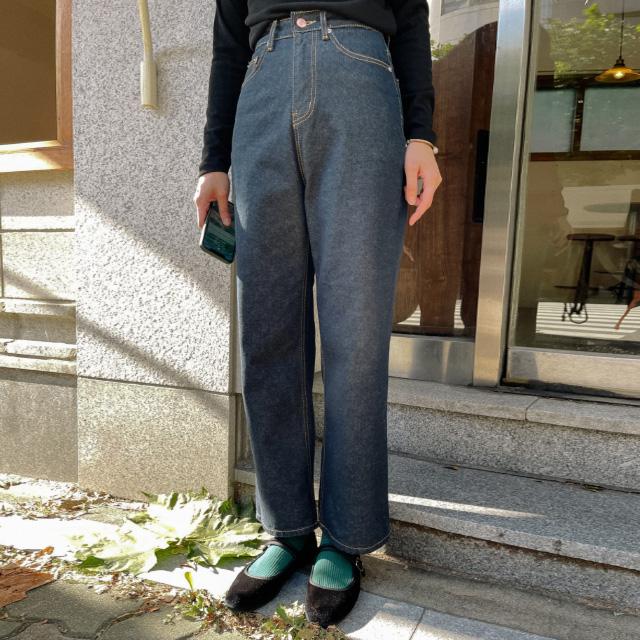 banharu-반하루[코크 생지데님팬츠]♡韓國女裝褲