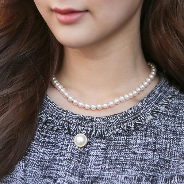 ode-[제인 진주 목걸이]♡韓國女裝飾品