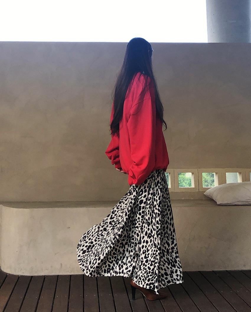 myclassy-Barbara Leopard Skirt♡韓國女裝裙