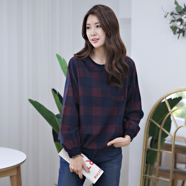 tiramisu-350생생후드체크남방♡韓國女裝上衣