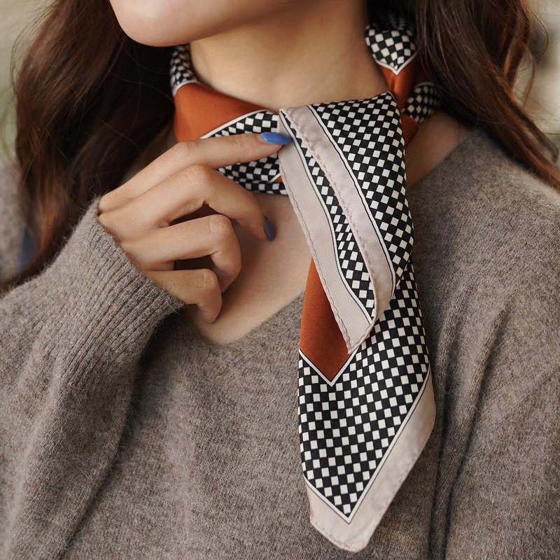 clicknfunny-체닛 패턴스카프♡韓國女裝飾品